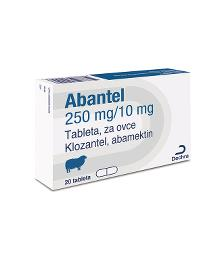 Abantel® 250/10 mg tableta za ovce