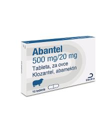 Abantel® 500/20 mg tableta za ovce