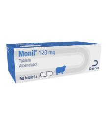 Monil®, 120 mg, tableta, za ovce